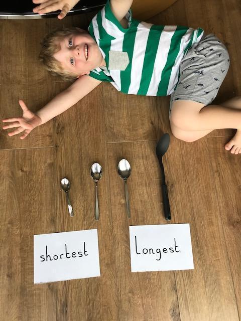 Shortest to longest