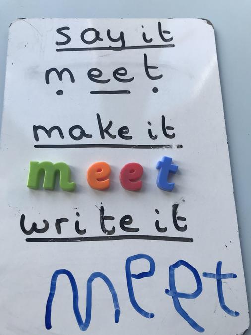Writing ee words