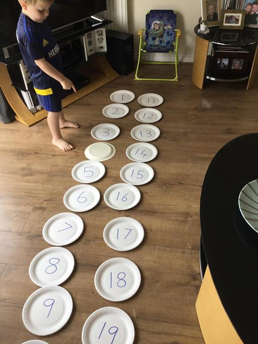Missing number games