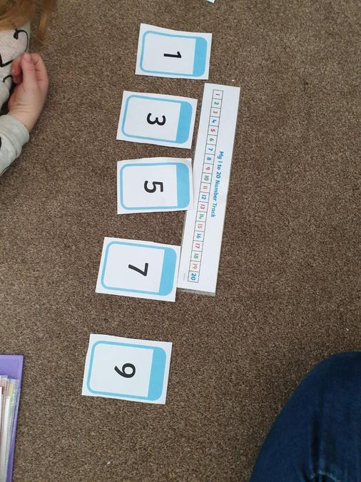 Finding odd numbers.