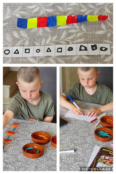 Creating and continuing patterns