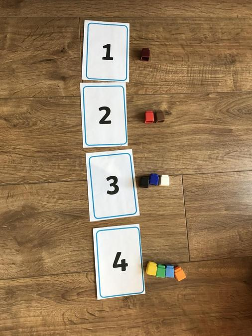 Counting cubes.