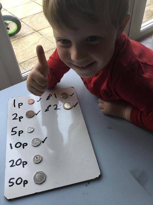 Getting to grips with coin recognition