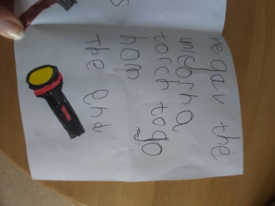 Page Three. Brilliant! Well done Mia!