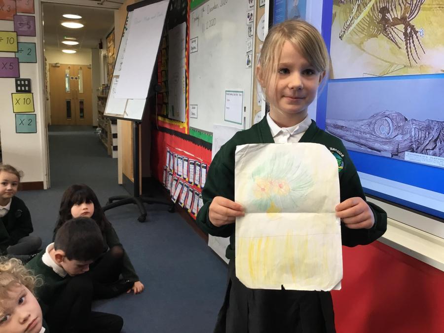Vincent Van Gogh style art work