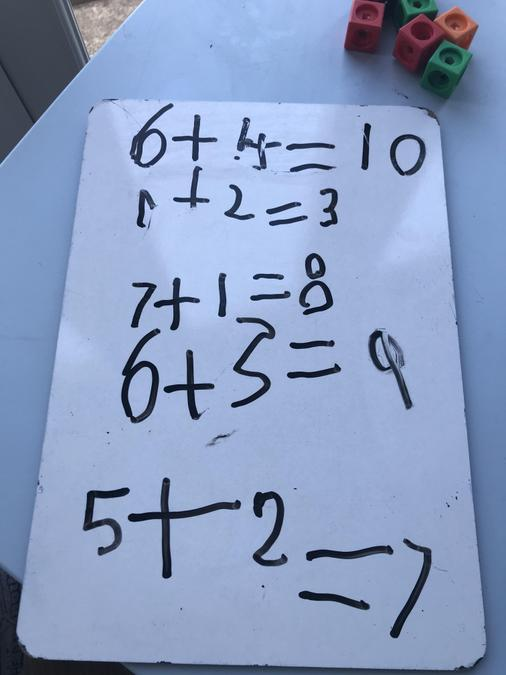Addition sums