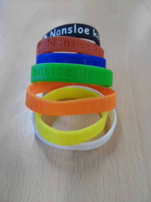 First set of Reading Bands