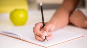 Practicing writing