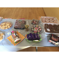 We had a cake sale to raise money