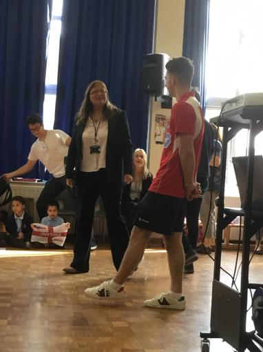 Mrs Washford Mower told Max we are proud of him.