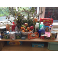 A small selection of our harvest donations.