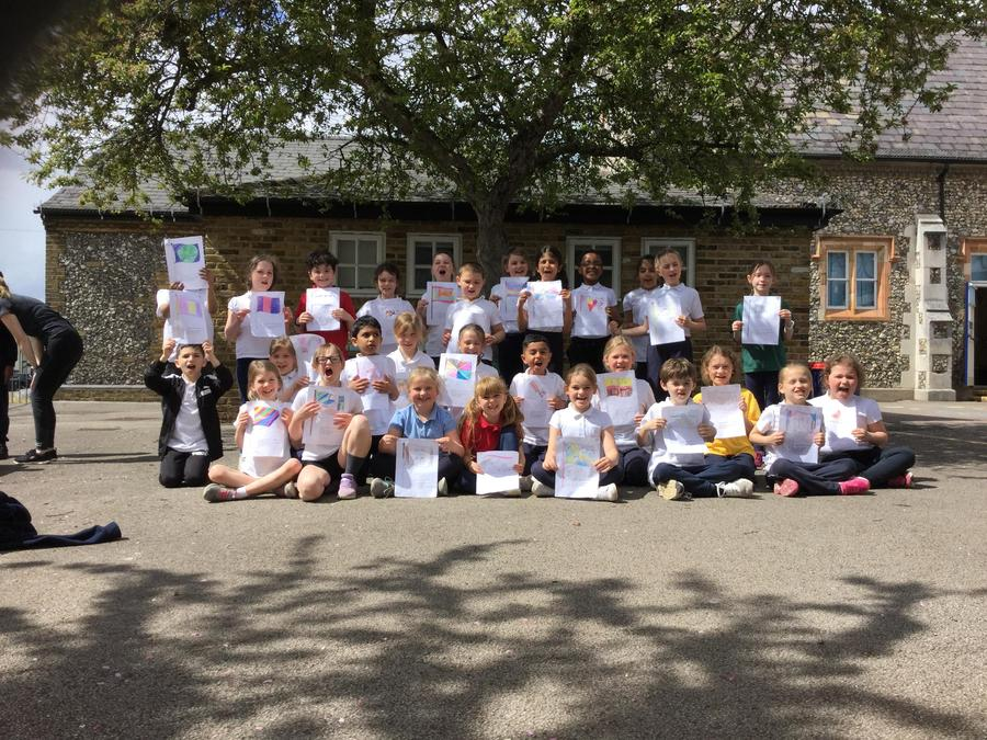 The year 3 class performed amazingly in 7 different events to finish 2nd in the DISTRICT
