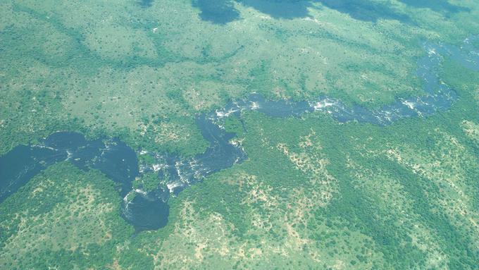 Rapids on River Nile
