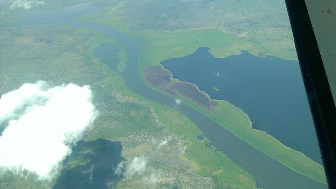 River Nile at 5000 feet