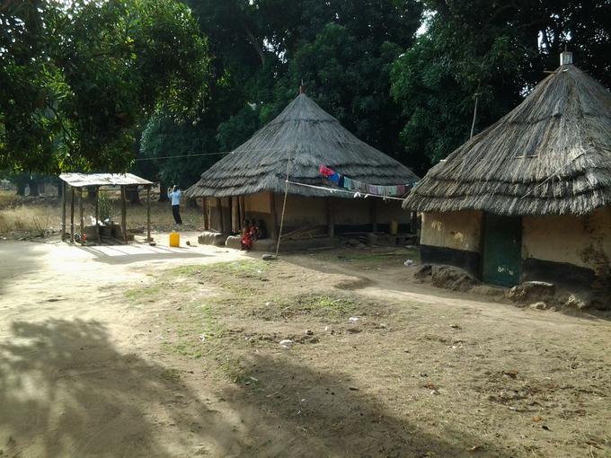 Kimu village early morning