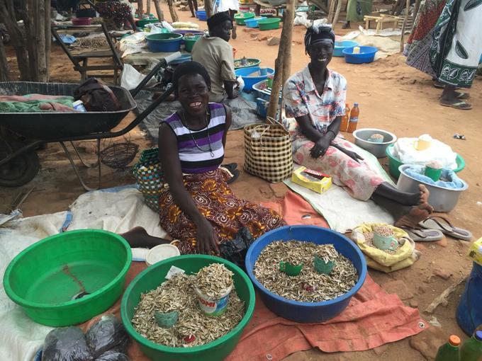 Kajo Keji market