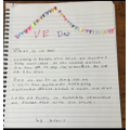 Gracie - Writing about VE Day