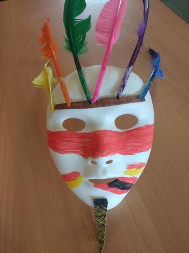 Josh K Mayan mask