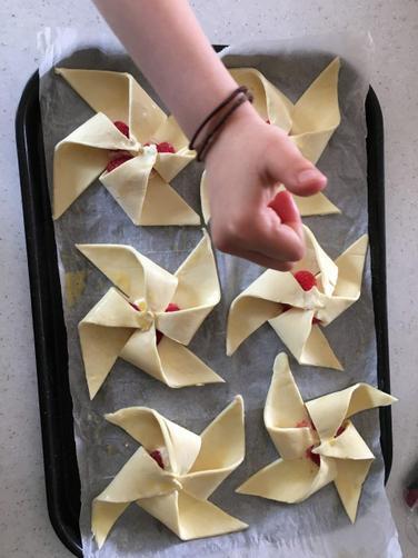 Grace's pinwheels
