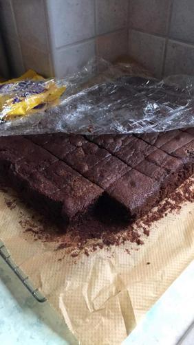 Matthew's fraction cake