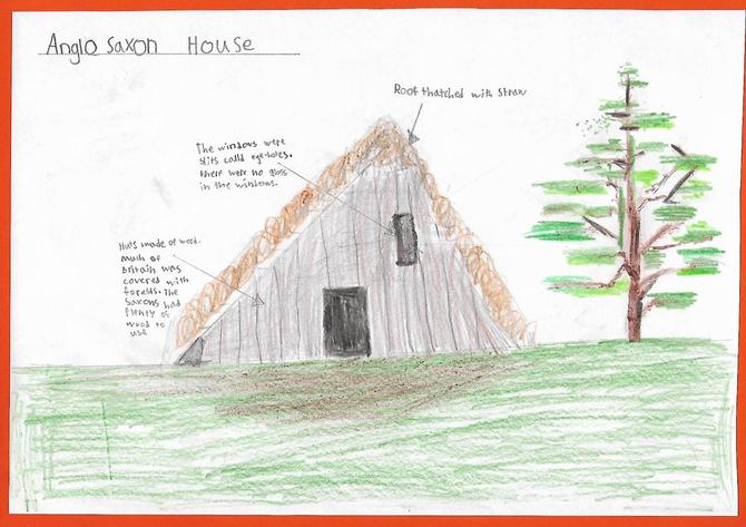 Evelyn's Anglo-Saxon House