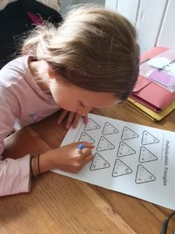 Layla's Times Tables work