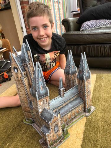 Jacob's impressive 3D puzzle