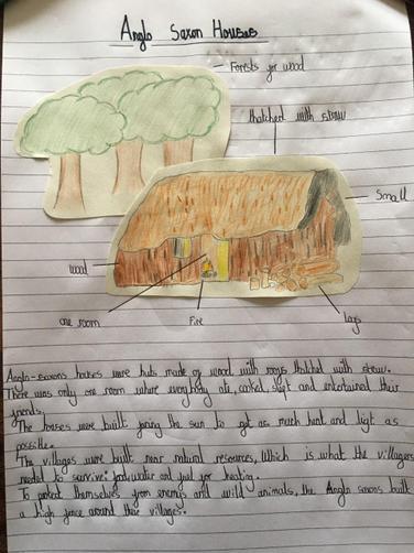 Thomas' Anglo-Saxon House