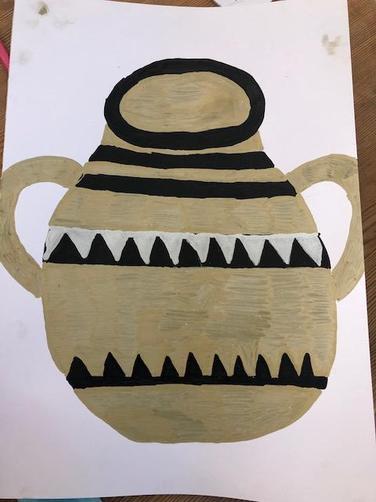 Greek Vase by Bea
