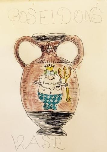 Greek Vase by Lily