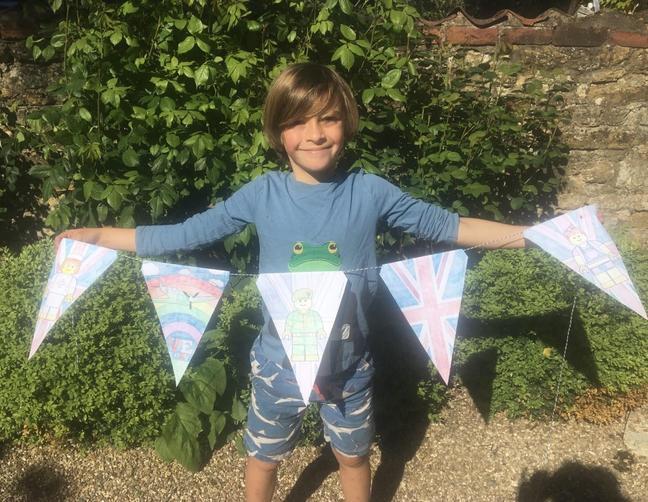 Toby's VE Day Celebration