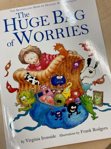 We read the story and talked about ways to make a worry disappear ...
