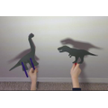 Science- Making our own shadow puppets