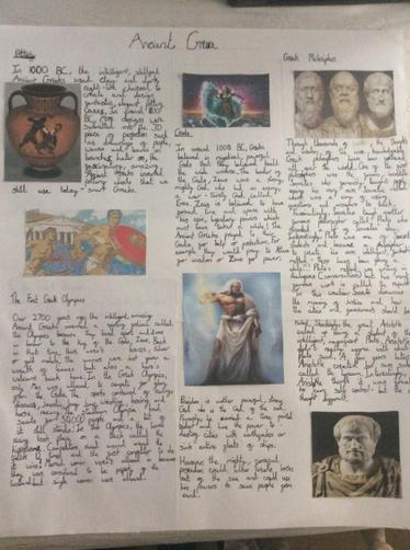 Fin's Greek Writing piece