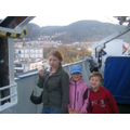 An picture of us on the ferry to Norway to visit our family