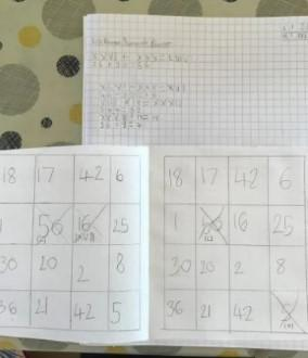 Roman Numeral Bingo (Isla)