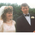 A wedding picture from my parents back in 1991