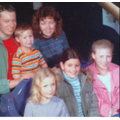 2004 (with my cousin sat inbetween me and my sister) at Cadbury world.