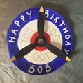 Tilly's Birthday Card for Bob!