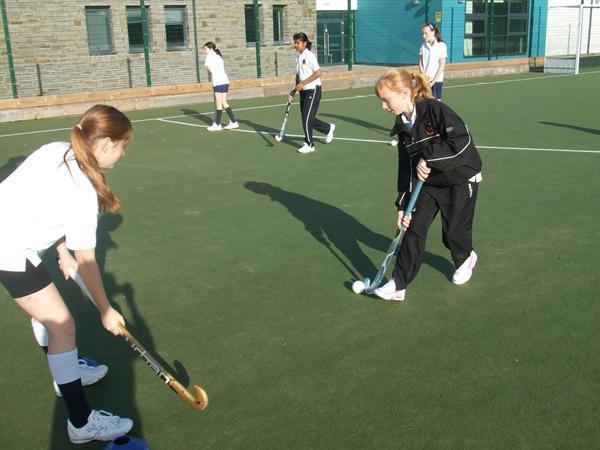 Year 9 girls hockey club