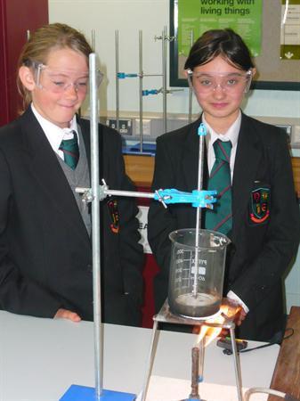 Year 8 Fair Testing Bunsen flames