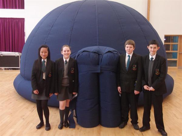Year 8 Planetarium StarDome