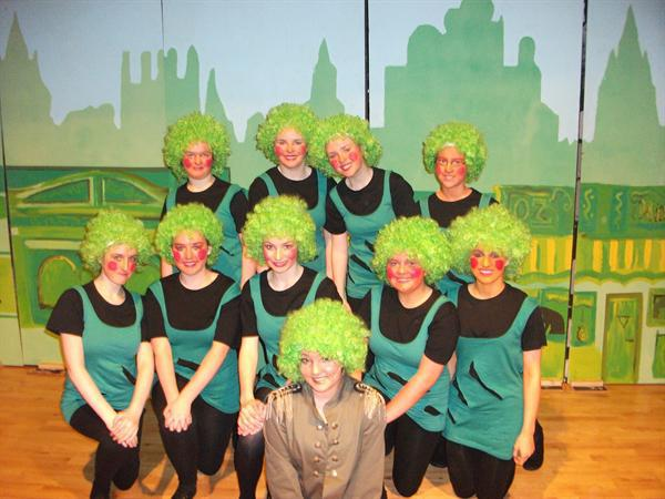 Dancers from the Emerald City