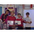 Maths Awards for achieving 100% in times tables