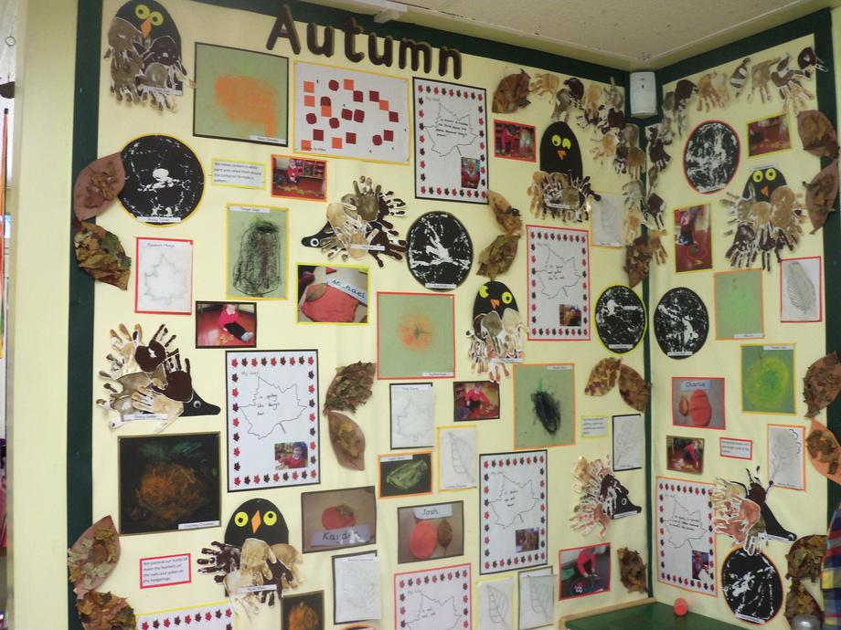 We have been learning about Autumn.