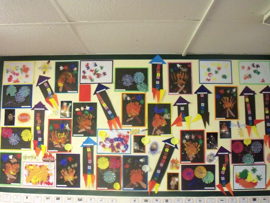 Look at the work we did around bonfire night.