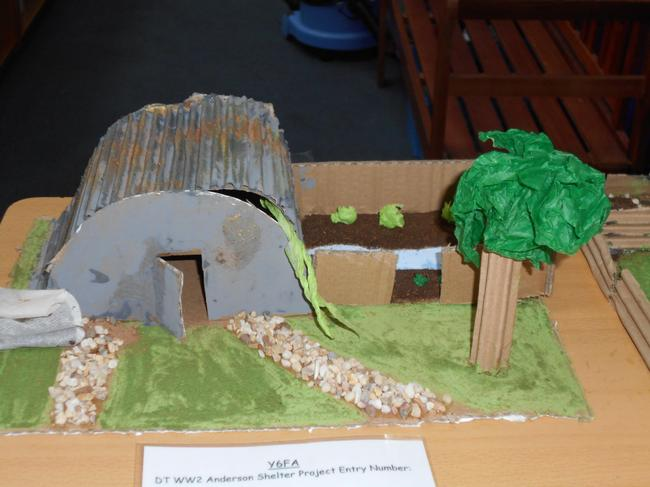 Y6 WWII project work