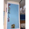 Phonics display