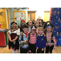 We all enjoyed dressing up as pirates.