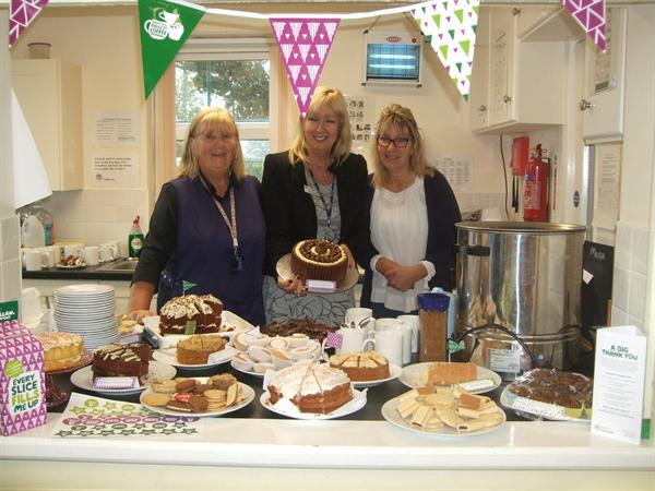 MacMillan Coffee Morning 28 Sept 2017